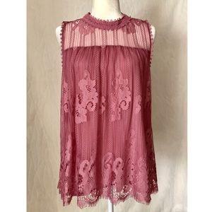 NWOT Crochet Lace Top by xhilaration | M